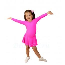 Купальник гимнастический с юбкой