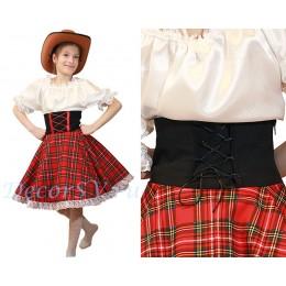 Платье для Ковбойского танца. Шляпа продается отдельно.