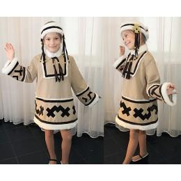 """Детский танцевальный костюм Народов Севера """"Якутия""""."""