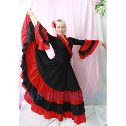 Испанский танцевальный костюм.