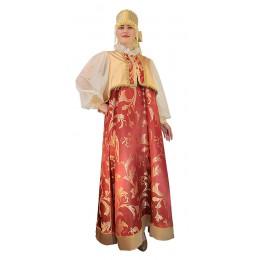 Русский народный костюм: сарафан + блуза + кокошник